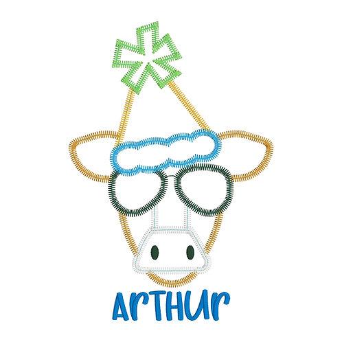 Party Cow Applique
