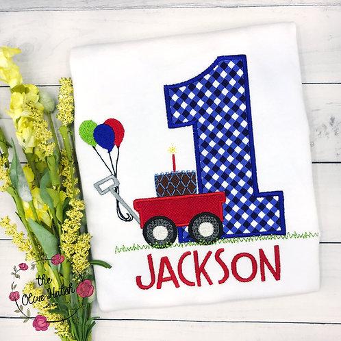 Wagon Birthday