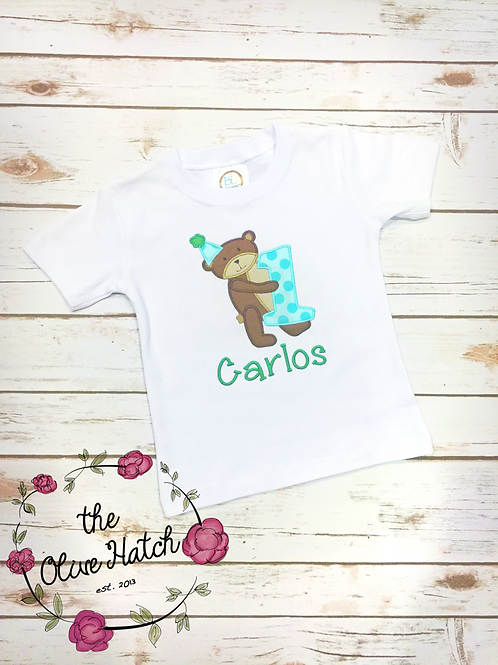 Bear Birthday Shirt