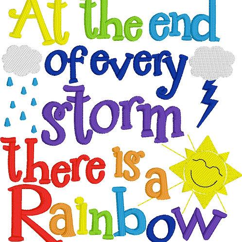 Rainbow Baby Embroidery