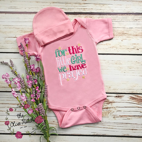 For this little Girl Baby Outfit