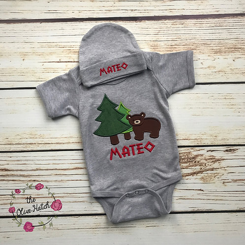 Bear Baby Outfit