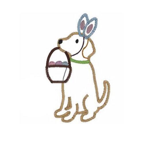 Easter Puppy Applique Shirt