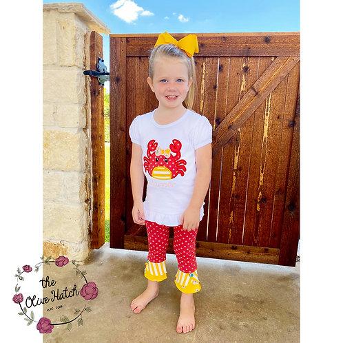 Summer Crab Outfit M2M Matilda Jane