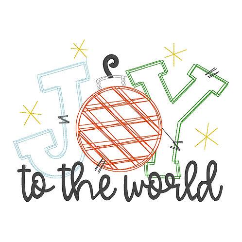Joy Sketch Design Shirt