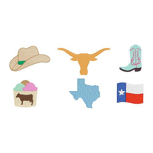 Pick 3 Texas Favorites Sketch Design