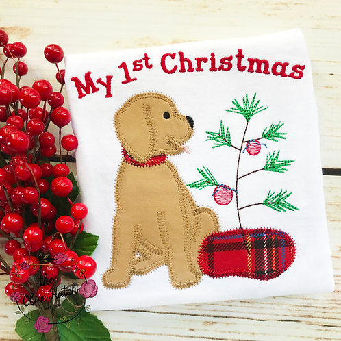 My First Christmas Applique