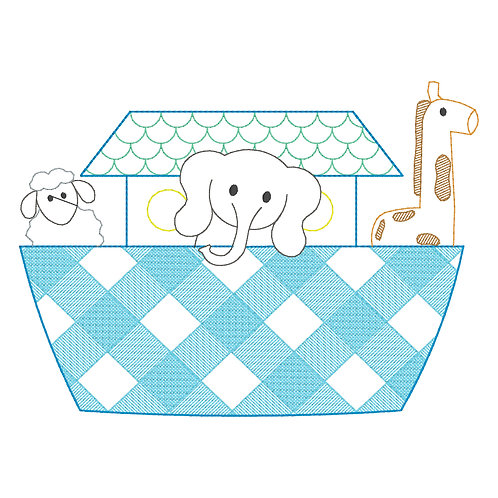Animal Ark Sketch Design Shirt