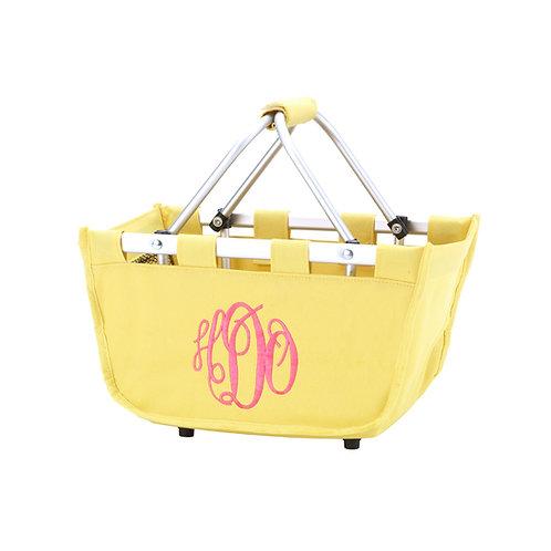 Mini Market Tote - Yellow