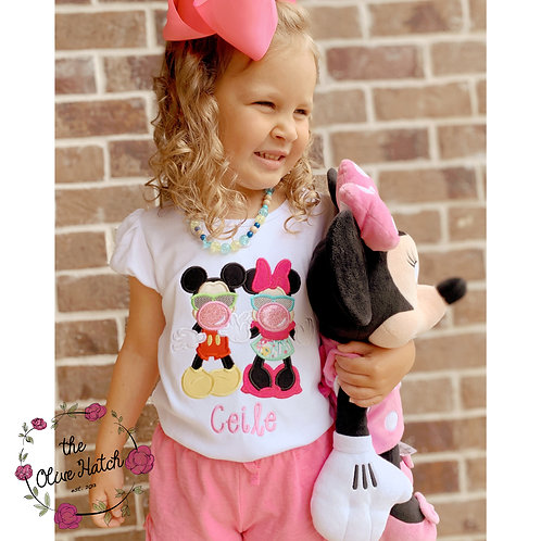 Miss Mouse Applique Shirt