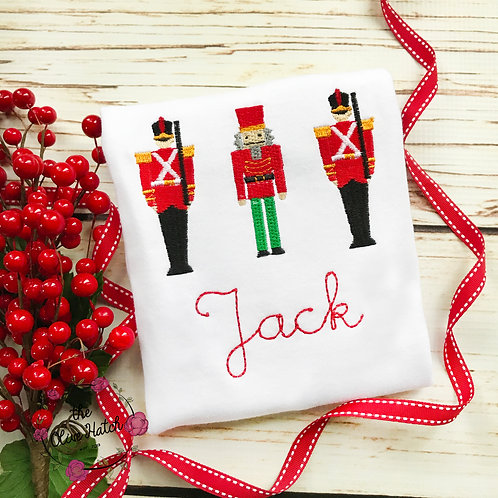 Nutcracker and Soldiers Embroidery