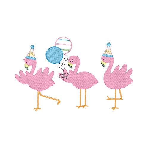 Sketch Flamingo