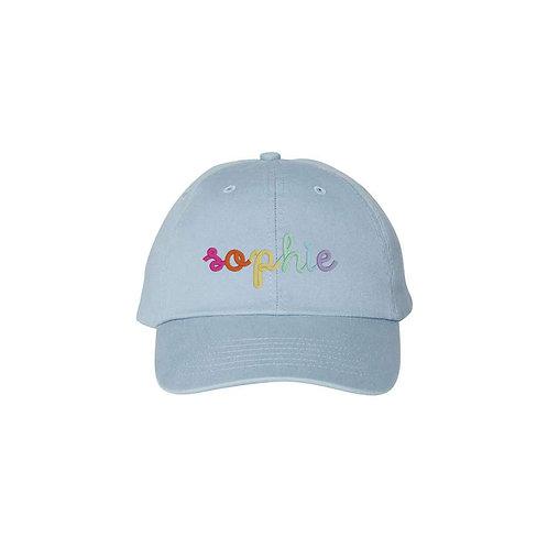 Kids Rainbow Personalized Hat