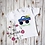 Thumbnail: Monster Truck Egg Shirt / OnePiece -- Applique