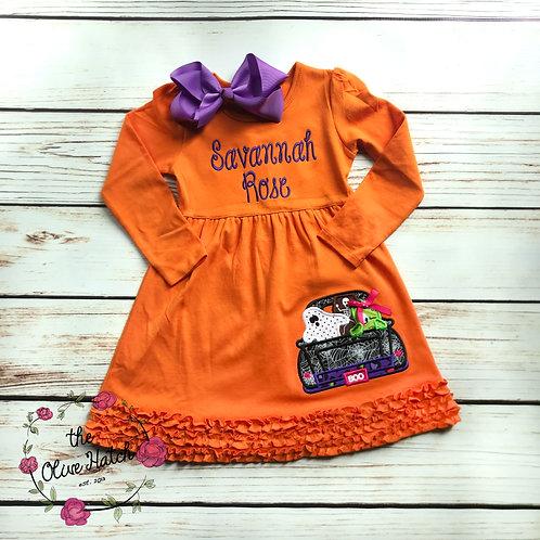 Halloween Truck Dress