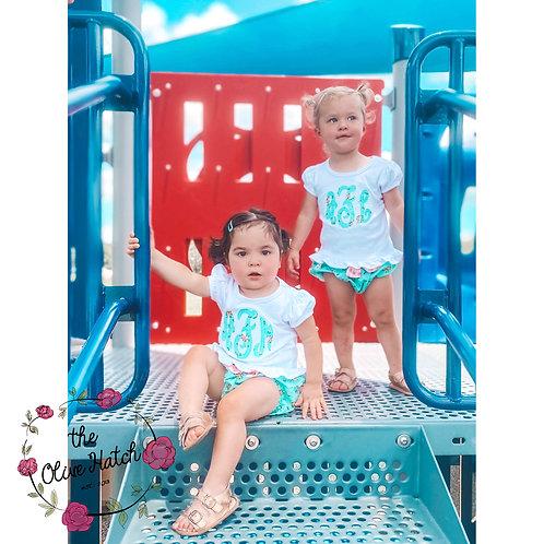 Summer Shirt and Diaper Cover M2M Matilda Jane