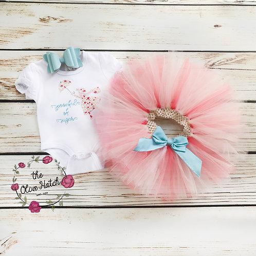 Poppins Lady Blanket Stitch Design - Applique