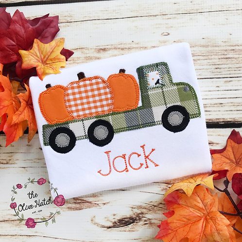 Fall Truck Design-- Applique