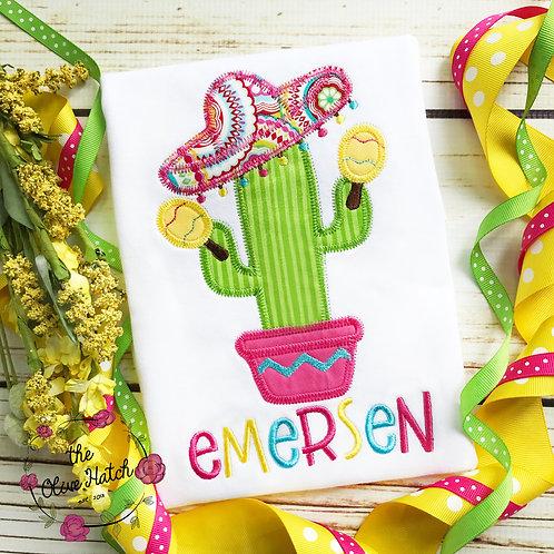 Fiesta Cactus Applique
