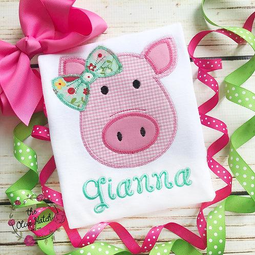 Pig Applique