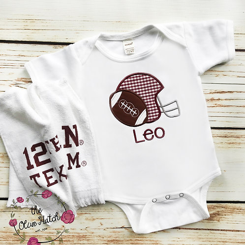 Football Baby Outfit