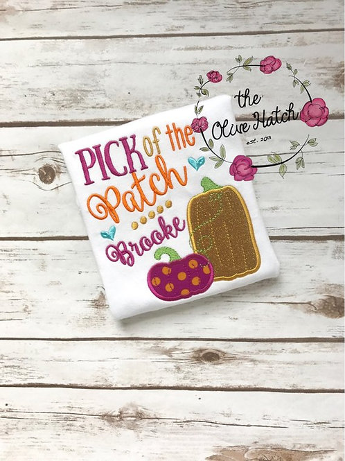 Pick of the Patch -- Applique