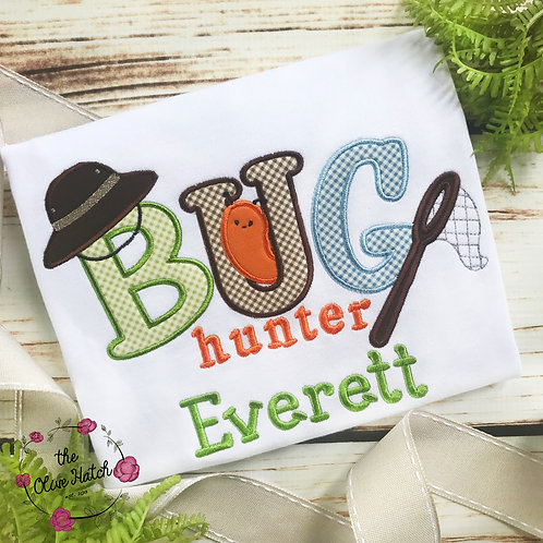 Bug Hunter Applique