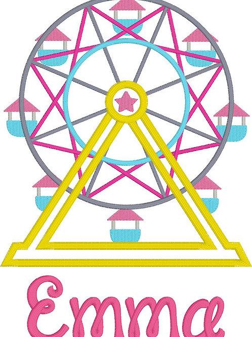 Ferris Wheel Design-- Applique