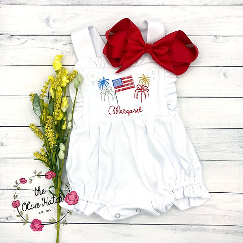 Fourth of July Sunsuit