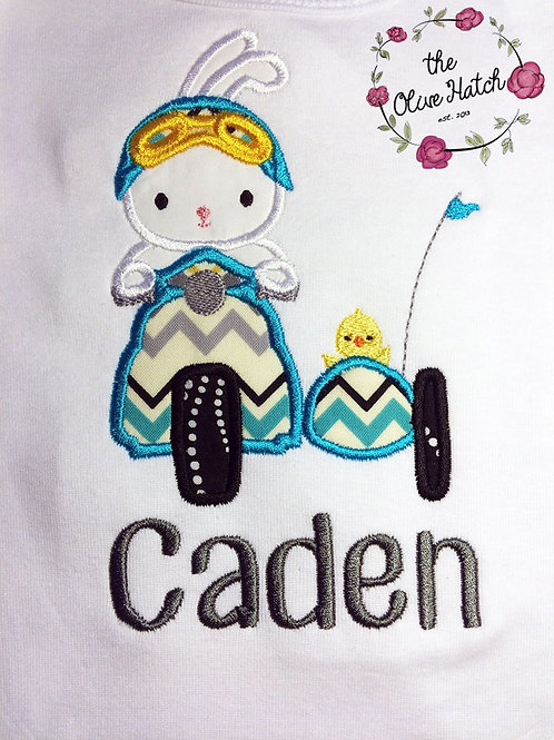 Easter Bunny and Chic Applique