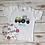 Thumbnail: Tractor w/Eggs Shirt / OnePiece -- Applique