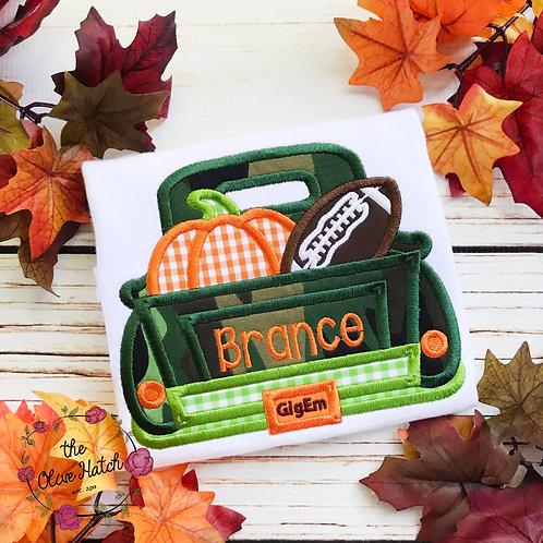 Fall Football Truck