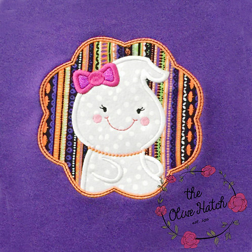 Ghost Girl Applique OnePiece