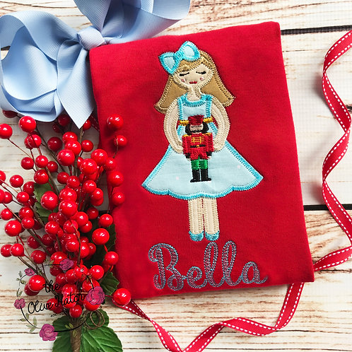 Clara Christmas Design-- Applique