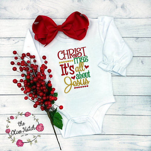Christmas It's All About Jesus