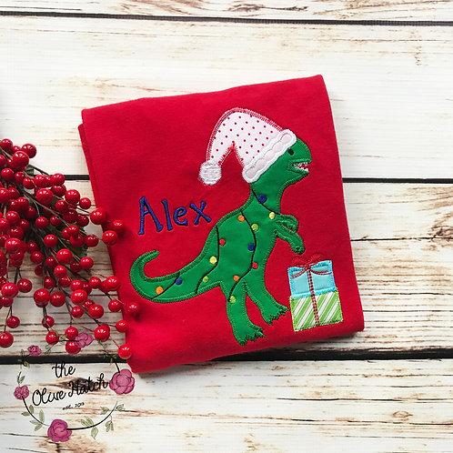 Dinosaur Christmas Design