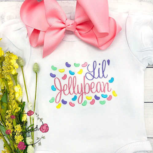 Jellybean Embroidery OnePiece