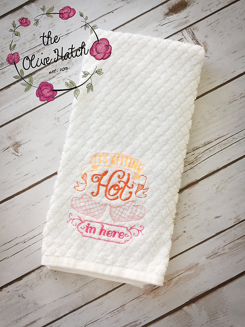 Kitchen Towel Embroidered