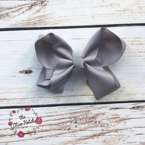 Grey Bow