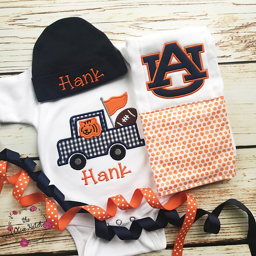 Auburn Baby Outfit