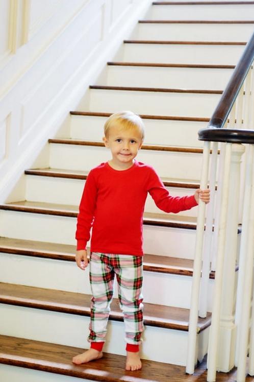 Christmas Plaid Pajamas