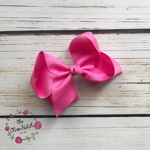 Dark Pink Bow