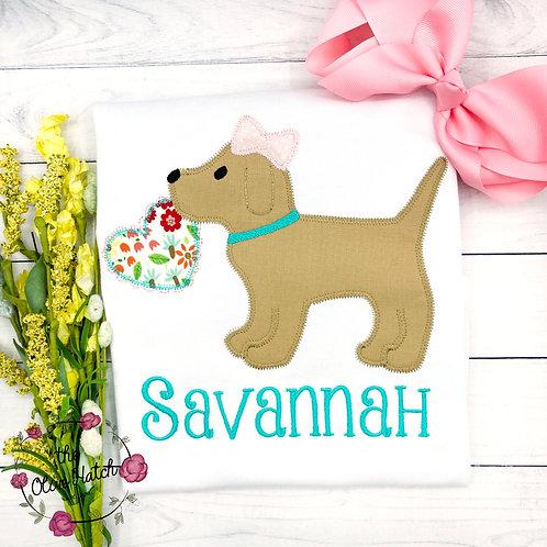 Valentine Puppy design