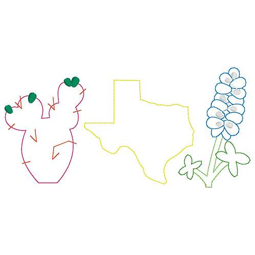 Texas Applique Design