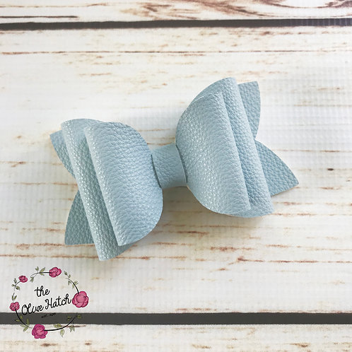 Rain Blue Bow - Double Stack