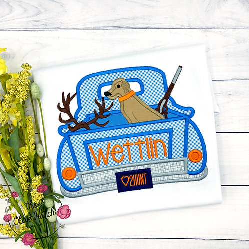 Hunting Truck Applique