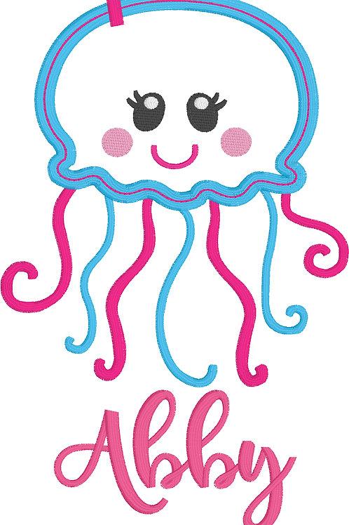 Jelly Fish Applique