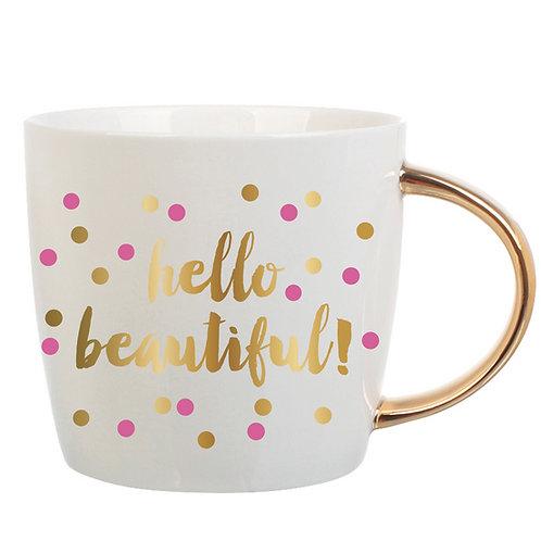 Hello Beautiful Mug