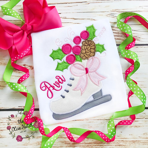 Ice Skate -- Applique