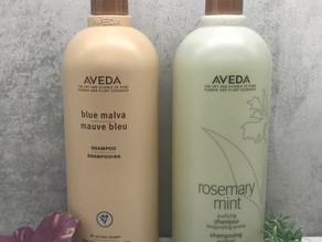 Aveda Blue Malva und Rosemary Mint Shampoo- lohnen sich teure Shampoos?!